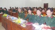 Đảng ủy Quân khu 4: Kiểm tra 260 tổ chức đảng và trên 3.700 đảng viên