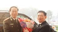 Bộ trưởng Bộ Công an thăm và làm việc tại Nghệ An