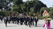 Lãnh đạo tỉnh Thanh Hóa dâng hương tại Khu di tích Kim Liên
