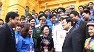 Chủ tịch nước gặp mặt cán bộ đoàn, đoàn viên tiêu biểu nhận Giải thưởng Lý Tự Trọng