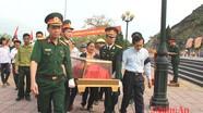 Nghệ An: Đón và an táng hài cốt liệt sỹ quân tình nguyện từ Lào về quê hương
