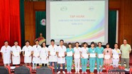 Hơn 100 bác sỹ, điều dưỡng ở Nghệ An nắm vững kỹ thuật truyền máu an toàn