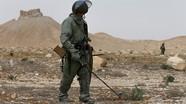 Video công binh Nga dò mìn IS rải tại Syria