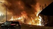 Cháy rừng dữ dội ở Canada, cả thành phố sơ tán