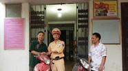 Công an TP Vinh: Trao trả xe máy bị mất trộm cho người dân