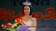 Cô gái Thái Hòa đăng quang Người đẹp Lễ hội Làng Sen năm 2016
