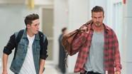 Becks giúp con trai 'cưa đổ' bạn gái