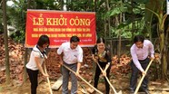 Đô Lương: Xây dựng nhà mái ấm công đoàn cho giáo viên có hoàn cảnh khó khăn