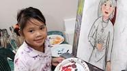 Thiên tài hội họa nhí gốc Việt ở Australia