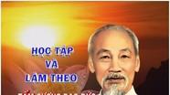 Đẩy mạnh và học tập làm theo tư tưởng, đạo đức, phong cách Hồ Chí Minh