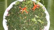 Đặc sản rau nhót trên đồng muối ở Nghệ An