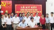 Ký kết chương trình phối hợp giữa Liên minh HTX với các huyện, thành, thị