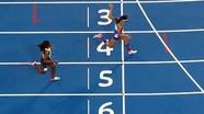 VĐV điền kinh giành HCV Olympic vì… ngã ngay vạch đích