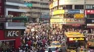 Hàng nghìn người hỗn loạn đi bắt Pokemon hiếm ở Đài Loan