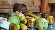 Độc đáo mâm cúng Tết hoa quả của người Thái