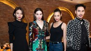 Hà Hồ, Hà Tăng dự dạ tiệc của Linh Nga