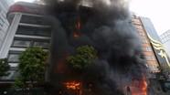 13 người chết trong vụ cháy quán karaoke ở Cầu Giấy