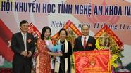 Ông Trần Xuân Bí tái đắc cử Chủ tịch Hội Khuyến học tỉnh Nghệ An
