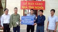 Trao nhà tình nghĩa cho thương binh ở thị xã Thái Hòa