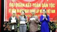 Phó Chủ tịch UBMTTQ tỉnh dự ngày hội Đại đoàn kết tại phường Quang Trung