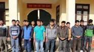 Tham gia cá cược chọi trâu, 17 đối tượng bị bắt