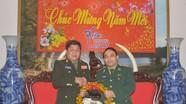 Bộ CHQS tỉnh Hủa Phăn chúc Tết biên phòng Nghệ An