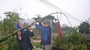 Tục dựng cây nêu, cột đèn tiễn ông Táo về trời ở xứ Nghệ