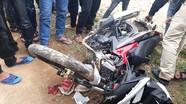 Sát Tết, tai nạn xe máy khiến cháu bé 1 tuổi tử vong tại chỗ