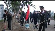Công an tỉnh phát động tết trồng cây Xuân Đinh Dậu