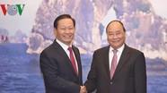 Thủ tướng tiếp Bí thư Khu ủy Khu tự trị dân tộc Choang Quảng Tây