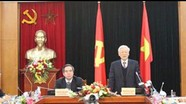 Tổng Bí thư Nguyễn Phú Trọng làm việc với Ban Kinh tế Trung ương