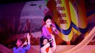 Giao lưu dân ca ví giặm tại lễ hội Đền Cuông