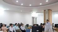 Báo Bắc Giang tham quan mô hình Tòa soạn Hội tụ tại Báo Nghệ An