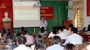 Nâng cao nghiệp vụ làm báo cho công tác viên ở Quế Phong