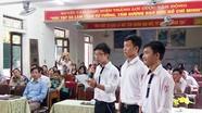 Kết nạp đảng trong trường THPT: Động lực cho những người trẻ