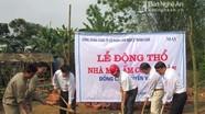 Nghĩa Đàn: khởi công xây dựng 2 nhà 'Mái ấm công đoàn'