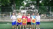Bế mạc giải bóng đá Hội đồng hương Nghệ An ở Học viện Quân y