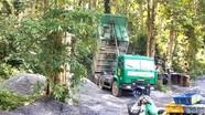 Đơn vị thi công biến rừng săng lẻ thành nơi xả rác thải xây dựng