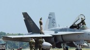 Tiêm kích Mỹ hạ cánh khẩn cấp ở Nhật vì động cơ báo lỗi