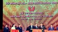 Nghệ An được Chính phủ tặng cờ thi đua tại Lễ tuyên dương điển hình tiên tiến toàn quốc