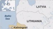 Chiến đấu cơ Nga cách phi cơ Mỹ hơn một mét trên biển Baltic