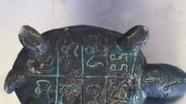 Đi đào vàng nhặt được con rùa bằng đồng