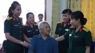 Hội Phụ nữ khối LLVT Nghệ An thăm và tặng quà thương bệnh binh