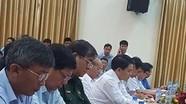 Chủ tịch Nguyễn Đức Chung dự buổi Công bố dự thảo kết luận thanh tra quản lý, sử dụng đất ở Đồng Tâm