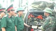 Bộ Tư lệnh Quân khu 4 kiểm tra công tác phòng chống bão số 4