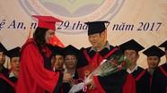 Trường Đại học sư phạm Kỹ thuật Vinh trao bằng  thạc sỹ cho 34 học viên khóa I