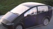 Ôtô chạy bằng năng lượng mặt trời giá rẻ