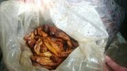 2,1 tấn trân châu, chuối chiên, chân gà bẩn chuẩn bị vào quán ăn nhanh