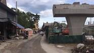 Cầu vượt ngã tư Cầu Giát 371 tỷ đồng chậm tiến độ