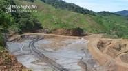 Cận cảnh mỏ thiếc Suối Bắc sau 5 tháng vỡ đập chứa bùn thải